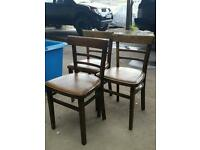 Vintage Bentwood chairs X 3