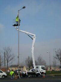 OPERATED PLATFORM OPERATED HIRE NISSAN CTE Z19 CHERRY PICKER