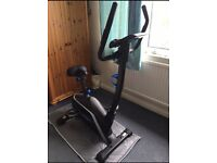 Roger Black Exercise bike with electric monitor UNUSED