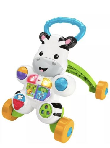 Fisher-Price Learn with Me Zebra Musical Activity Walker Gir
