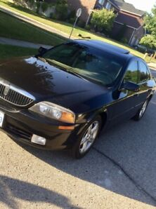 2000 Lincoln LS v8 only 125,000 kms.  In great shape