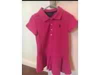 Girls Ralph Lauren dress size 3. Designer dress