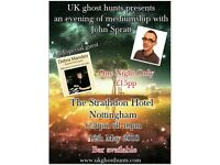 A night of mediumship