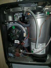 Worcester boiler full working