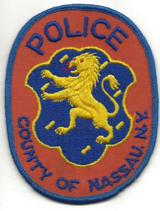 COUNTY OF NASSAU POLICE PATCH, NEW YORK