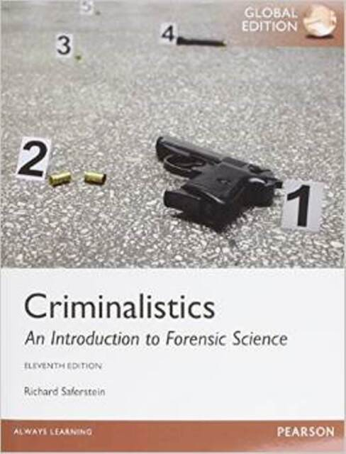 Criminalistics: An Introduction to Forensic Science 11E by 9781292062020