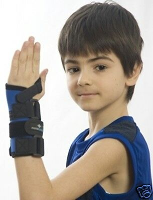 (Childrens, Kids Paediatric Wrist Support, Immobilises strains spains, fractures)