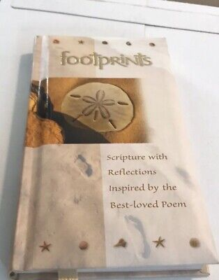 Footprints In The Sand Gift Hardcover Book from Hallmark