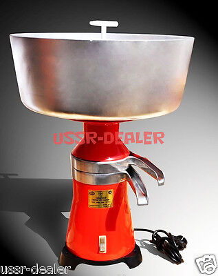 Milk Cream Electric Separator 100lh 15 Metalplastic 110v Usaca Plug