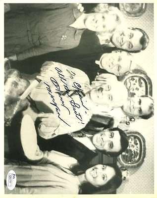 Harry Morgan Jsa Coa Hand Signed 8X10 Photo Authenticated Autograph