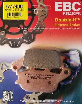 EBC Double H Sintered Motorcycle Rear Brake Pads Set FA174HH