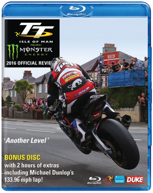 TT SEASON REVIEW 2016 (ISLE OF MAN TT OFFICIAL REVIEW)  - BLURAY