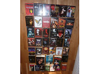 Extensive vampir DVD and book collection