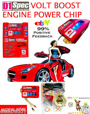 D1 Motor JDM Performance Turbo Boost-Volt Engine Voltage Power Speed Chip Ford
