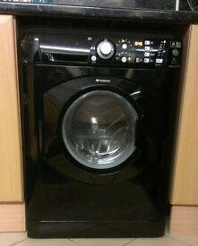 Hotpoint Aquarius Washing Machine WMF740K - 7KG - Glossy Black