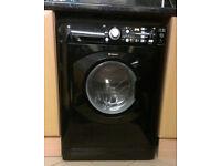 Hotpoint Washing Machine 7KG - Aquarius WMF740K Glossy Black
