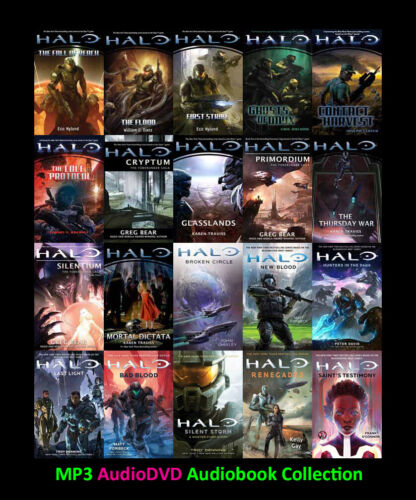 The HALO Science Fiction Series  (25 MP3 Audiobook Collection)