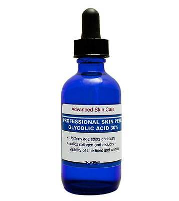 Glycolic acid 30% Chemical Peel Kit 100% Pure! Acne-Scars-Wrinkles, anti aging -
