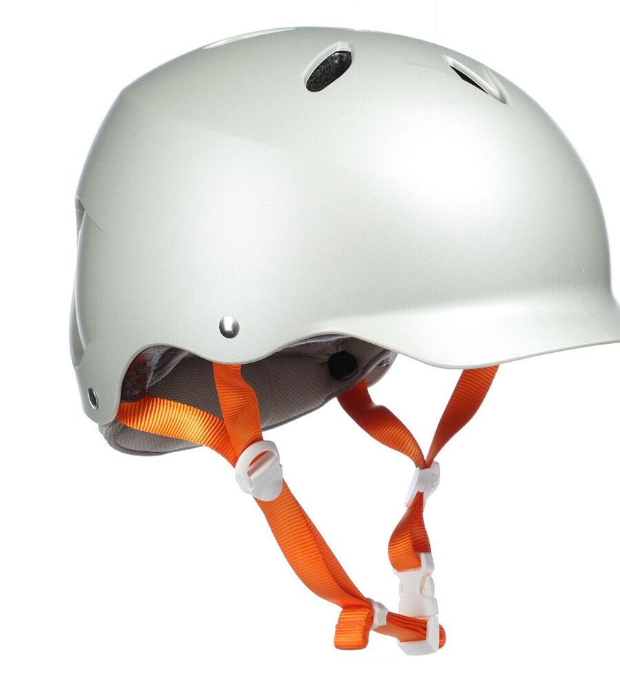 Bern Lenox Ladies Bike EPS Cycle Helmet XS-S M-L Satin Delphin Grey