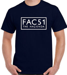 fac51-T-Shirt-Uomo-Factory-Records-Hacienda-Pietra-Rose-NUOVO-ORDINE-Happy