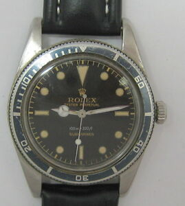 VINTAGE-ROLEX-SUBMARINER-5508-JAMES-BOND-VERSION-WRIST-WATCH-c-1959-NR
