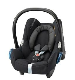 Maxi-Cosi Cabriofix Group 0+ Car Baby child seat + free rear baby mirror!