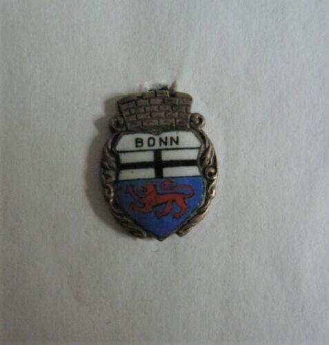 Vintage Lapel Pin Bonn Germany Heraldic Shield Coat of Arms