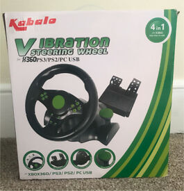 Kabalo Steering wheel and pedals