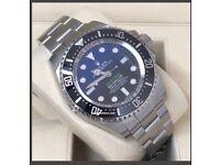 NEW ROLEX 116660 DEEPSEA DEEP BLUE JAMES CAMERON EDITION WATCH