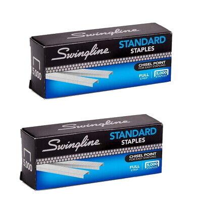 Swingline S.f. 1 Standard Economy Chisel Point 210 Full Strip Staples 2 Pack