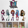 Monster high Kids room decal wall sticker Quote home Decor PVC mural UK