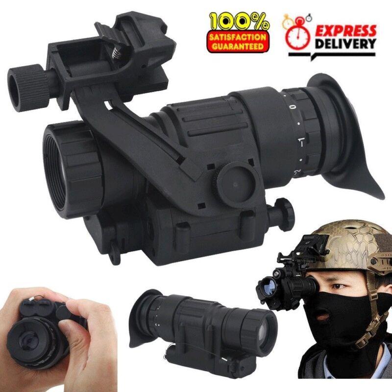 Waterproof Infrared IR HD Monocular Night Vision Helmet Telescope Hunting