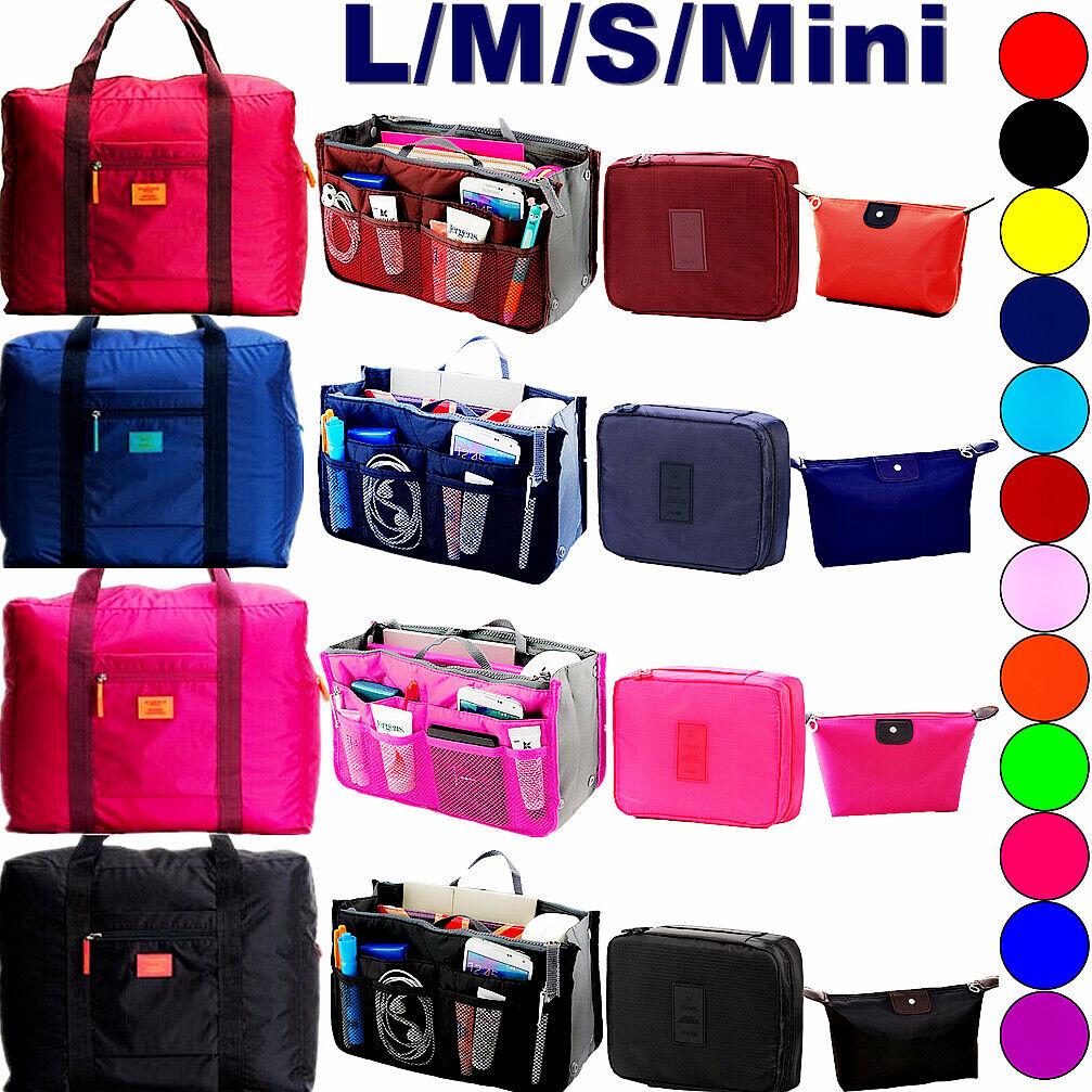 Women Travel Handbag Organizer Shoulder Purse Bags Storage B