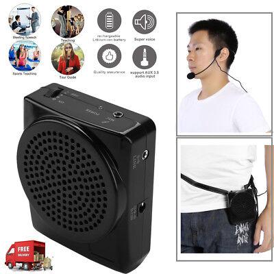 Portable Waistband Voice Amplifier Changer Sound Booster Loud Speaker -