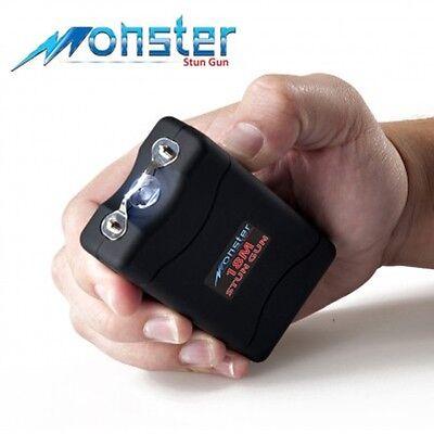 Monster-From Guard Dog 18M Volt Rechargeable Stun Gun w/ LED Light (Black)