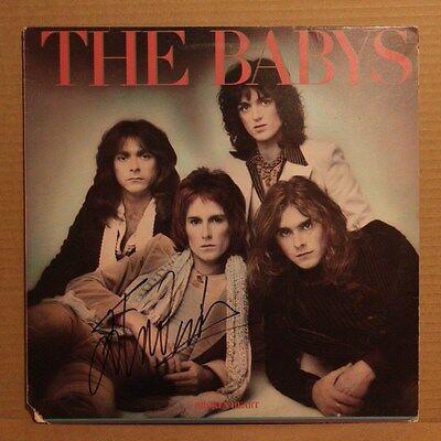 THE BABYS JOHN WAITE SIGNED AUTOGRAPHED LP RECORD ALBUM