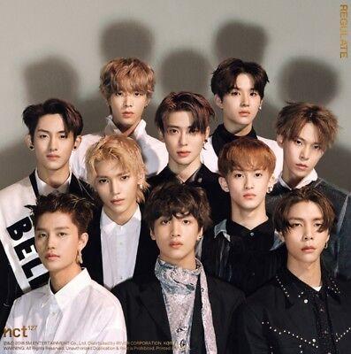 K-POP NCT127 1st Repackage Album [NCT #127 Regulate] CD+48p Photobook+Photocard