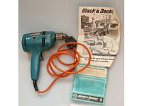 Black and Decker Super D500 electric drill