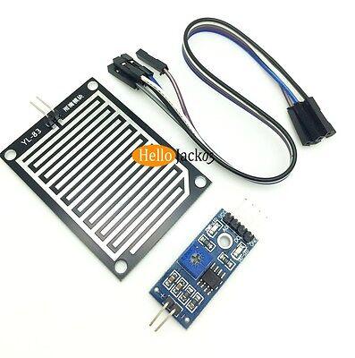 Raindrop Sensor Weather Humidity Detection Shield W. Control Board For Arduino
