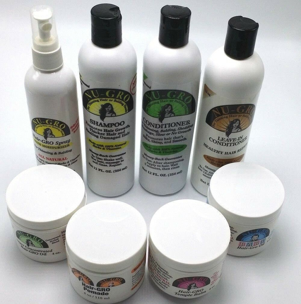 Nu-Gro Hair Care Products  - FREE SHIPPING !!