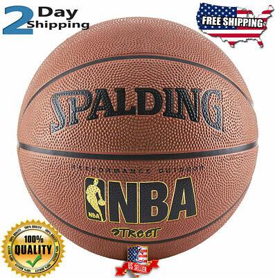 Best 29.5 Inch Spalding NBA Basketball Street Ball Indoor Outdoor Official (Best Spalding Indoor Basketball)