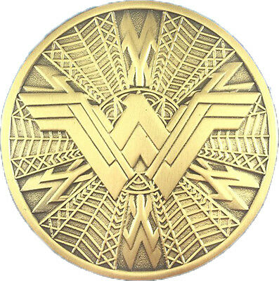 Wonder Woman Shild Logo - exklusiver Sammler Collectors Pin Metall - DC Comics