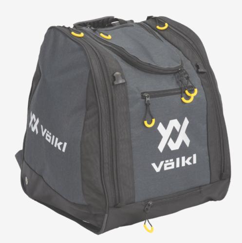 как выглядит Volkl Deluxe 68L Boot Bag Graphite Heather фото