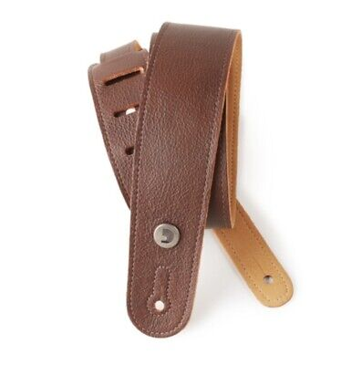 D'Addario - Planet Waves Garment Leather Guitar Strap Slim Design 2
