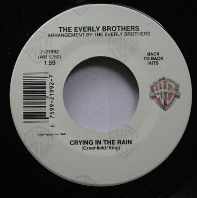 Rock Nm! 45 The Everly Brothers - Crying In The Rain / That'S Old Fashioned (Tha