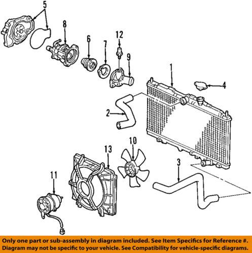 [SCHEMATICS_4FD]  Acura HONDA OEM 98-99 CL-Radiator Cooling Fan Motor 19030P6WA01 | eBay | 98 Acura 3 2tl Engine Diagram |  | eBay