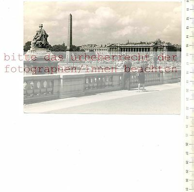 ORIGINAL PRESSEFOTO: PARIS - PLACE de la CONCORDE - FOTO FEUILLIE