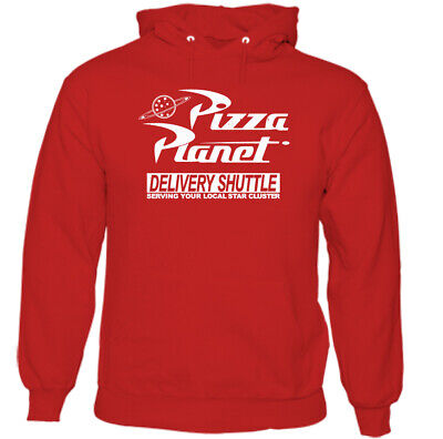 Pizza Planet Hoodie, Mens Toy Story Unisex Top