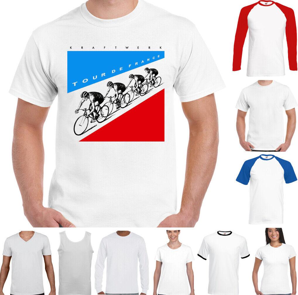 Mens Elecro Music Unisex Top Autobarn Band Kraftwerk Autobahn T-Shirt
