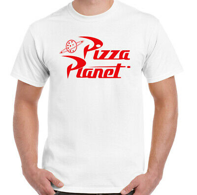 Pizza Planet T-Shirt, Mens Toy Story Unisex Top Movie